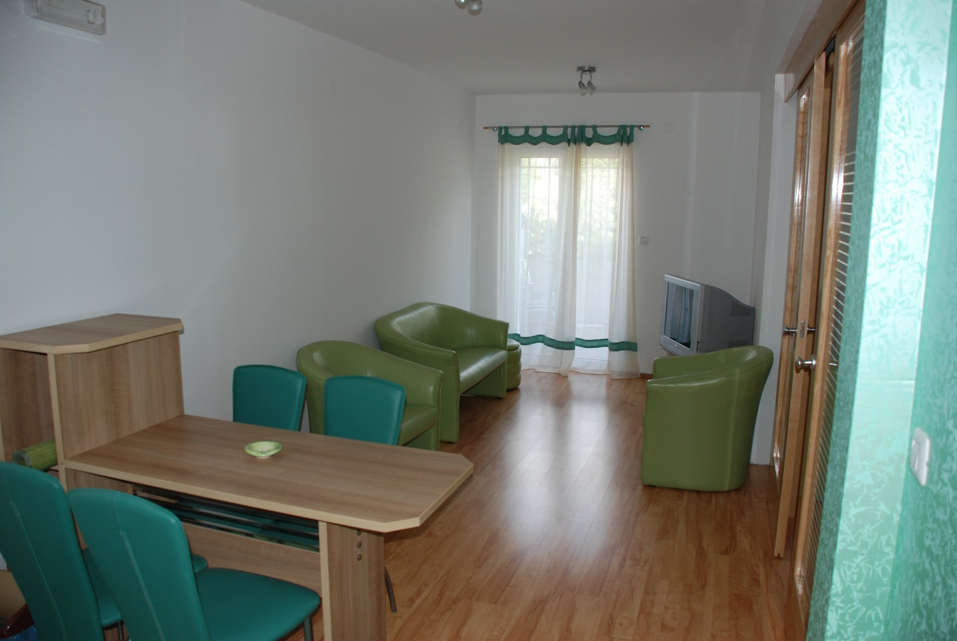 Green apartment living room montenegro