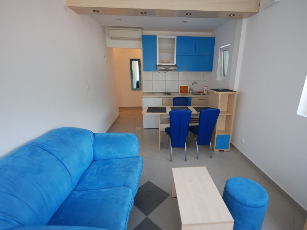 Blue Apartment livingroom Montenegro