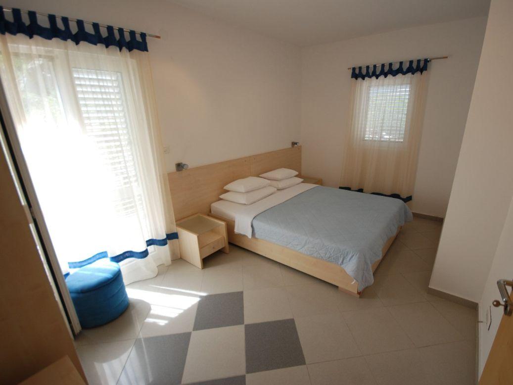 Blue bedroom Springs Apartments