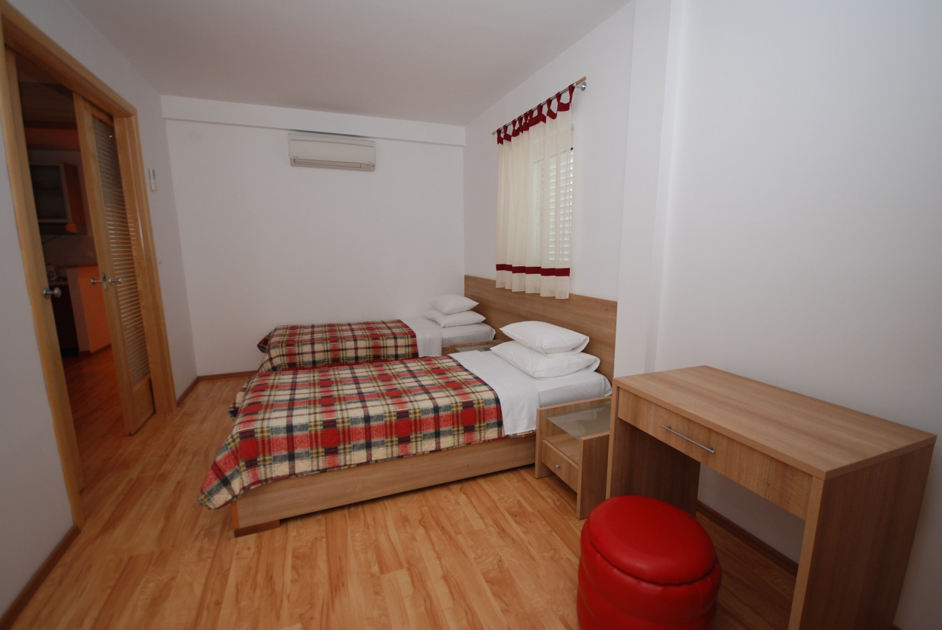 Red apartment Springs apartments Montenegro