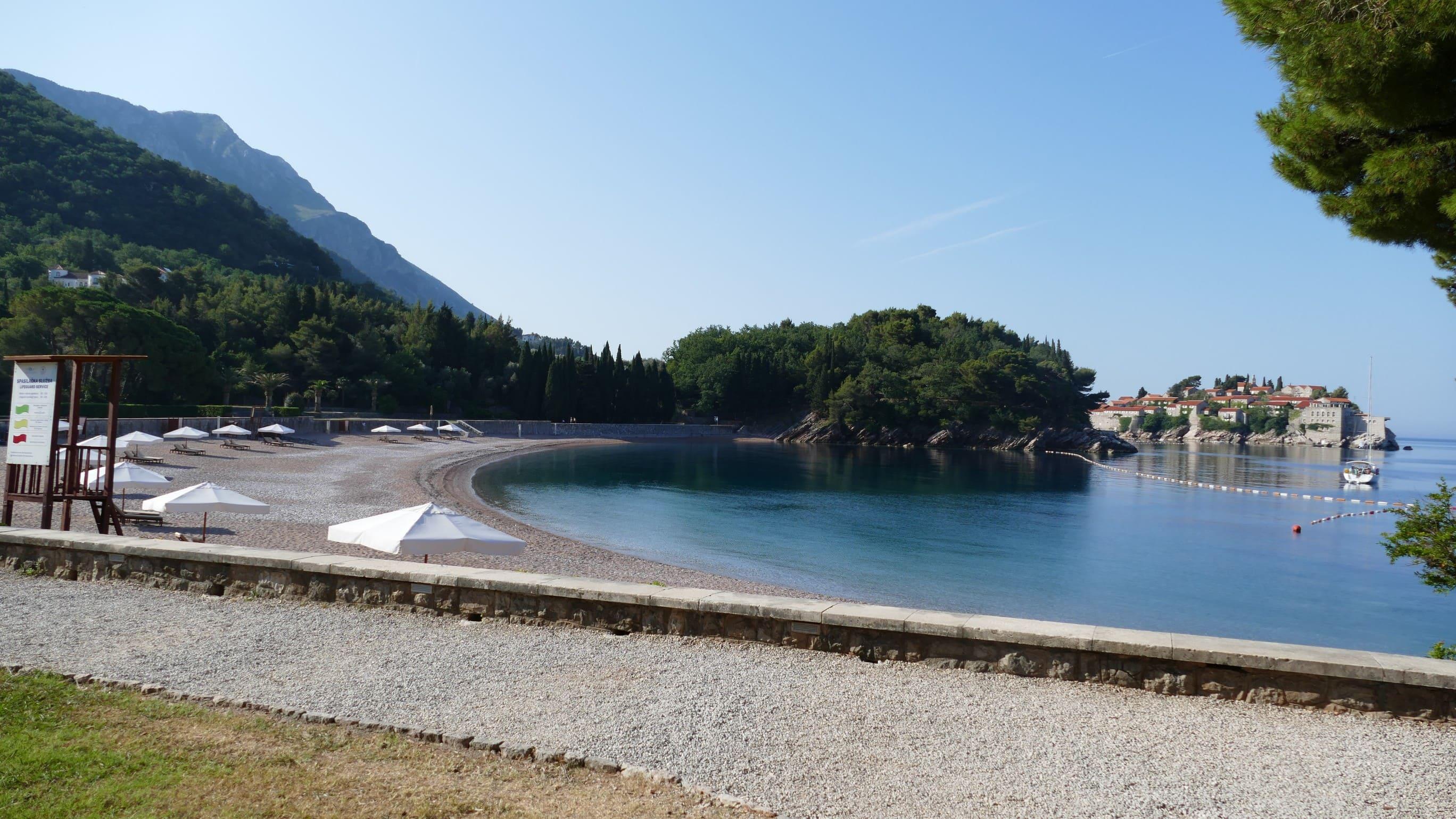 Beach Milocer- Kraljeva plaza